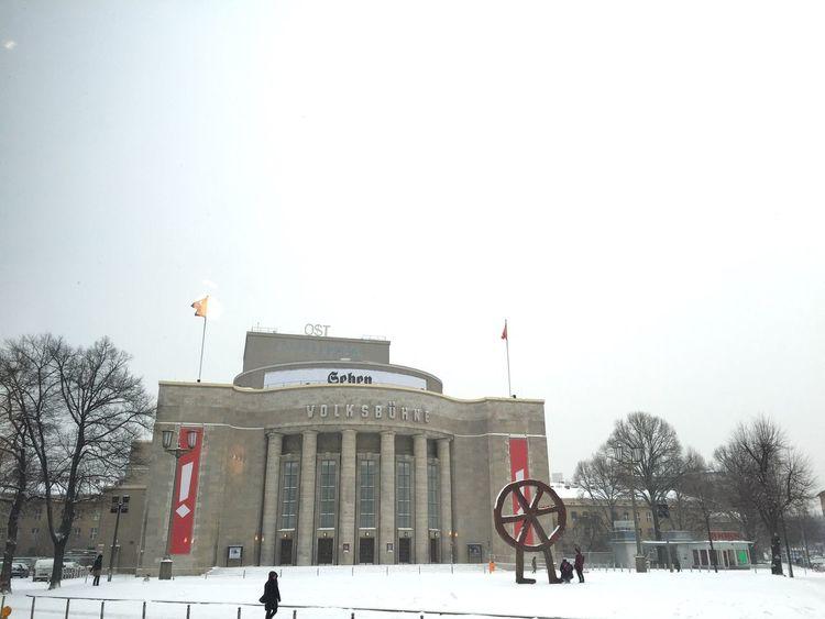 Berlin Volksbühne, 2016 Berlin Volksbühne Winter Germany Deutschland First Eyeem Photo
