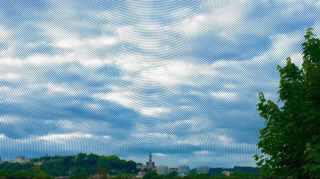 La ville🏡💒🏠rayonne en couleurs❤️💛💚💙💜😉 Paysage CIELFIE Skyfie Dans Ma Ville Ma Ville