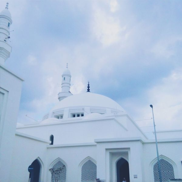 Masjidhussainseremban2 Mosque Beautiful Peaceful Uncledinpicture