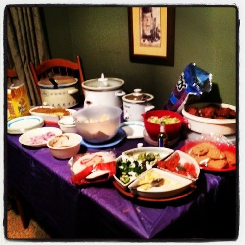 SuperBowl Party Tostitos Cookies Tacos Beef Chicken WheatThins SuperBowlSunday ChocolateCupcakes GamePlay Feast