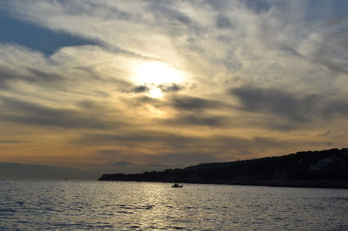 #cassis #France #provence #sky #sunset Beauty In Nature