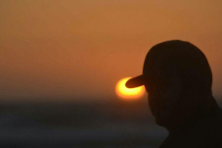 Coastal sunset Taking Photos