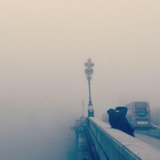 Londonbus London Greymorning Foggy Foggy Morning Sundayblues Putney Bridge Putney Because I Like It Wintertime Hello World