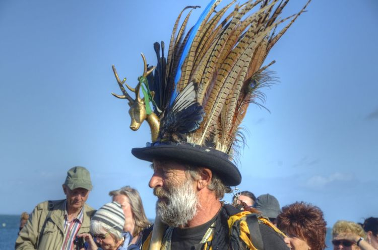 2015  Dancing Folk Week Morris Pirates Sand Sea Seafront Swanage