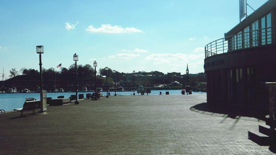 Baltimore Pier Sea