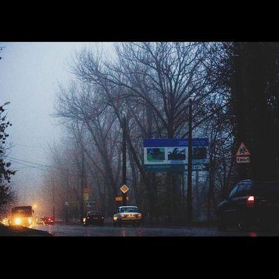 Rm_photo Shakhty Fog Nigth  mystical г.Шахты