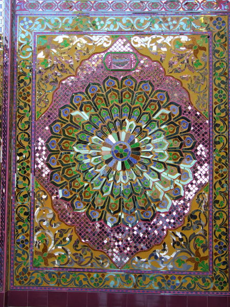 Buddhist Mosaic Glass Design at Oo Pon Nya Shin Pagoda on Nga Pha Hill (First established 674 AD) Buddhism Buddhist Art Buddhist Culture Buddhist Pagoda Buddhist Temple Close-up Composition Full Frame Glass Mosaic Mosaic Glass Art Multi Coloured Myanmar Nga Pha Hill No People Oo Pon Nya Shin Pagoda Ornate Design Outdoor Photography Pattern Place Of Pilgrimage Place Of Prayer Place Of Worship Reflections In The Glass Religion Sagaing Travel Destination
