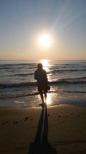 Summer Views Dawn In A Sea Town Life Is A Beach Enjoying The Sun Samsung Galaxy S3 Mini The Purist (no Edit, No Filter)