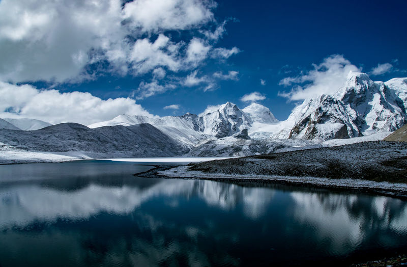 The Impressive Gurudongmar Lake Abode Of God Abode Of The NagaSadhus DesktopBackGround Gurudongmar HEAVENONEARTH Himalayas Peace And Quiet Beauty In Nature Cloud - Sky Cold Temperature Elements Of Nature Lake Mountain Mountain Range Nature No People Paradise Scenics - Nature Sky Snowcapped Mountain Tranquil Scene Tranquility Wallpaper Water Winter The Great Outdoors - 2018 EyeEm Awards The Traveler - 2018 EyeEm Awards The Still Life Photographer - 2018 EyeEm Awards
