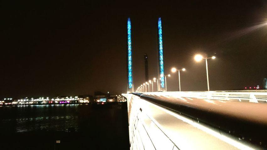 Night Bridge - Man Made Structure