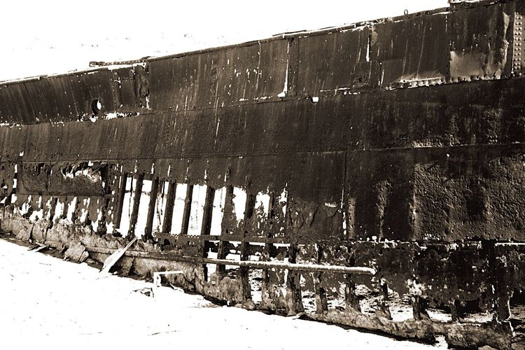 A Rusty Hull Rusty Hull Ship Wreck
