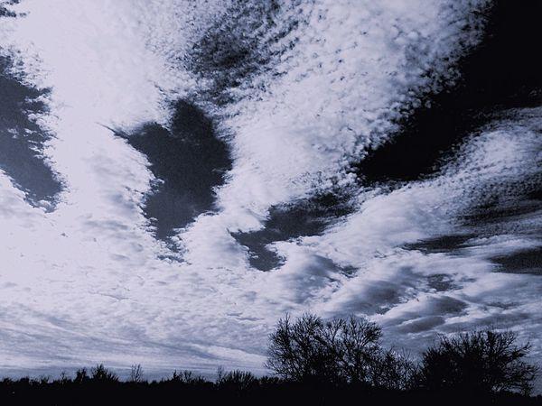 Clouds And Sky Cloudscape Blackandwhite Black & White Blackandwhite Photography EyeEm Best Shots - Black + White Nature's Diversities