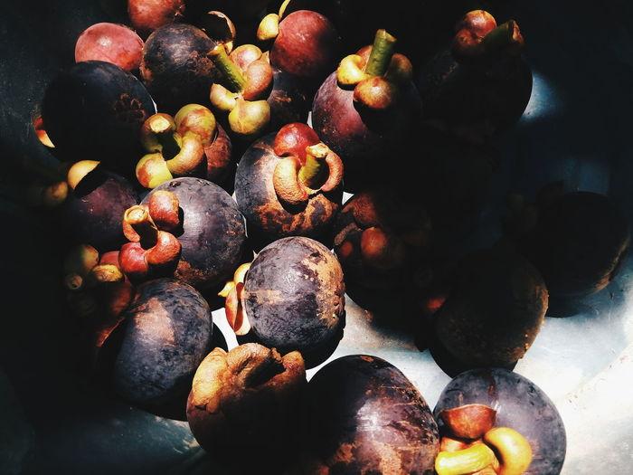 mangosteen Fruit Healthy Eating Thaifruit Mangosteen Fruit Mangosteen