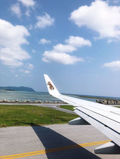 #飛行機 #kumejima