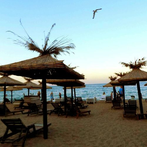 Bulgaria Sea Beach Travel Destinations Vacations Scenics Travel No People Outdoors Chair Tourism Nature Bird Water Beauty In Nature Horizon Over Water Sky Nopeople GetbetterwithAlex EyeEmNewHere