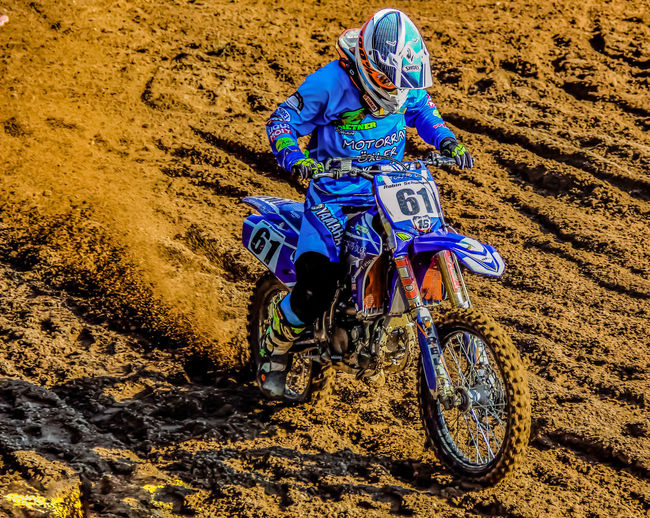 Motocrossrace Real People Transportation One Person Mode Of Transportation Land Lifestyles Land Vehicle Day Riding Leisure Activity Sport Ride Nature Sunlight Men High Angle View Sand Clothing Extreme Sports Outdoors Crash Helmet Mud Motocrossrace