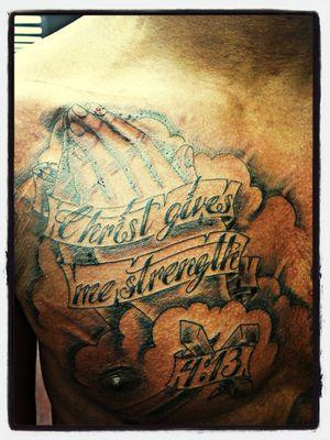New Tattoo . Philippines 4:13