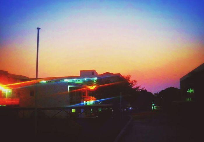 Sunrise_sunsets_aroundworld Kumasi Architecture Sunset_collection