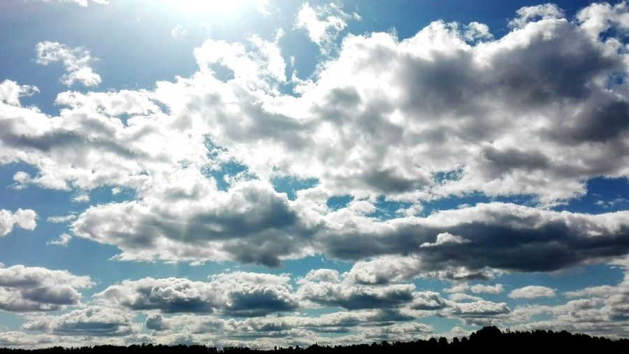 Hello World sky Relaxing