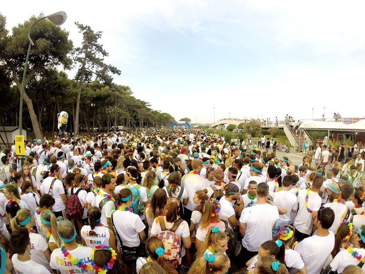 🔵🔴💜💚💛 Thecolorrun Lignano Summer Snapchat Followme OpenEdit Gopro
