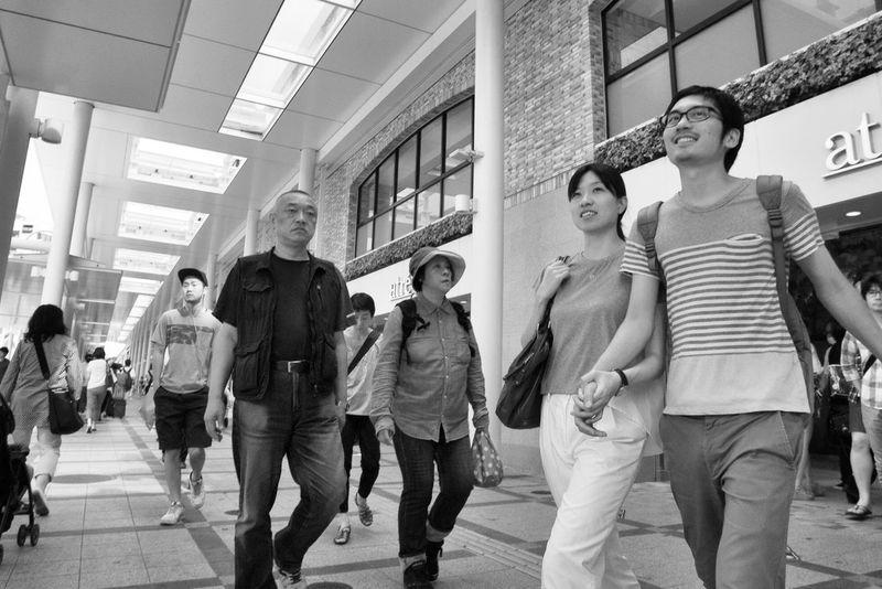 Sunday Holiday Summer Snapshot People Streetphotography_bw Blackandwhite Kichijoji , Tokyo