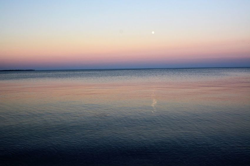 Beach Beauty In Nature Horizon Over Water Nature No People Sky Sunset Water