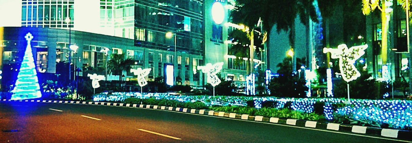 happy holiday Christmas Cityscape Street Photography Jakartaselamanya