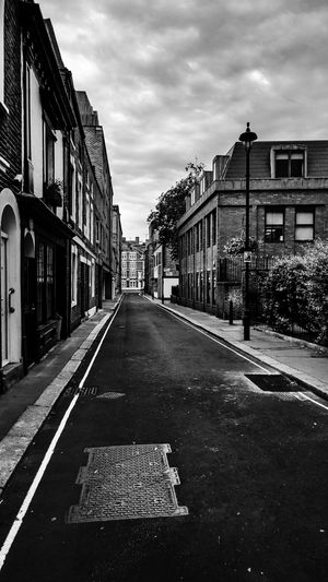 City Cityscape EyeEm EyeEm Best Edits EyeEm Best Shots EyeEm Selects EyeEmBestPics London Architecture Blackandwhite Blackandwhite Photography Building Building Exterior Built Structure City Cloud - Sky Clouds And Sky Day No People Outdoors Road Sky Street Surface Level