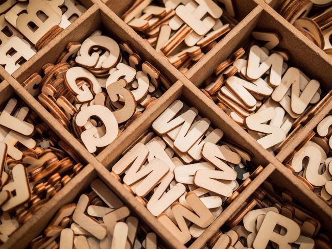 Alphabetography