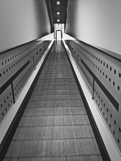 Shopping Blackandwhite Stairway