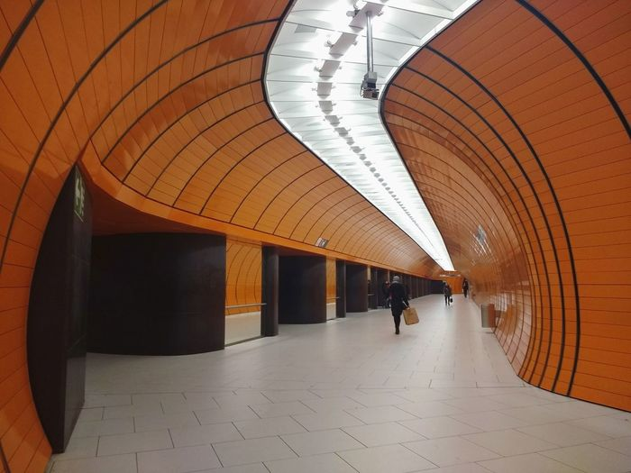 munich.underground.architecture München Underground Station  Marienplatz Architecture Symmetry 089 Empty Streets First Eyeem Photo