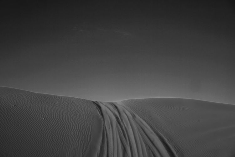 WhatLiesAhead No People Landscape Nature Tranquility Outdoors Sand Dune Day Scenics Desert Beauty In Nature Sky
