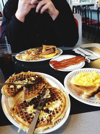 Crushing like always ??? Waffles Waffle Waffle House Food Food Porn