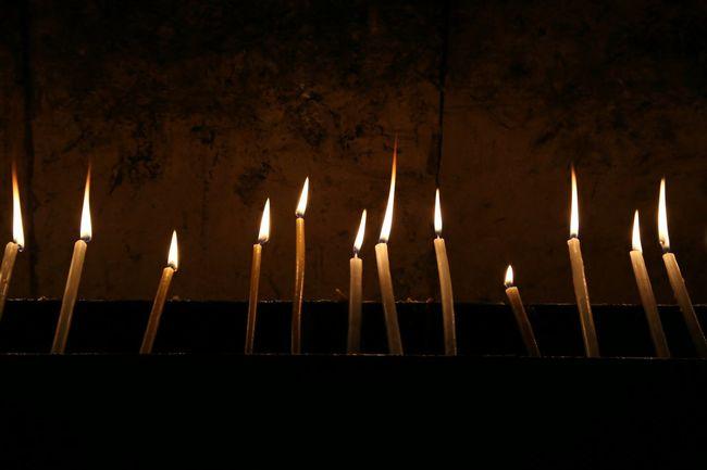 Candels Candellight Holy Jerusalem Darkness And Light Light And Shadow Altars