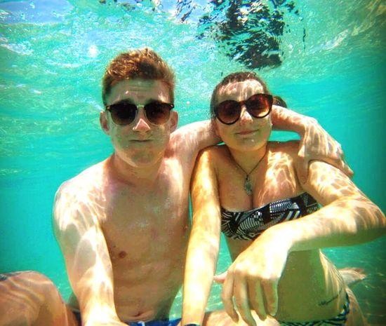 Gopro GoPro Hero3+ Goprooftheday Goprohero3 Goprohero4 Water Cool Blue Hello World Enjoying Life