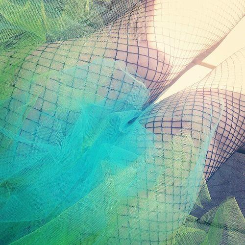 I'm such a tulle. Punny Imsopunny Tulle Tutu blueandgreen pride