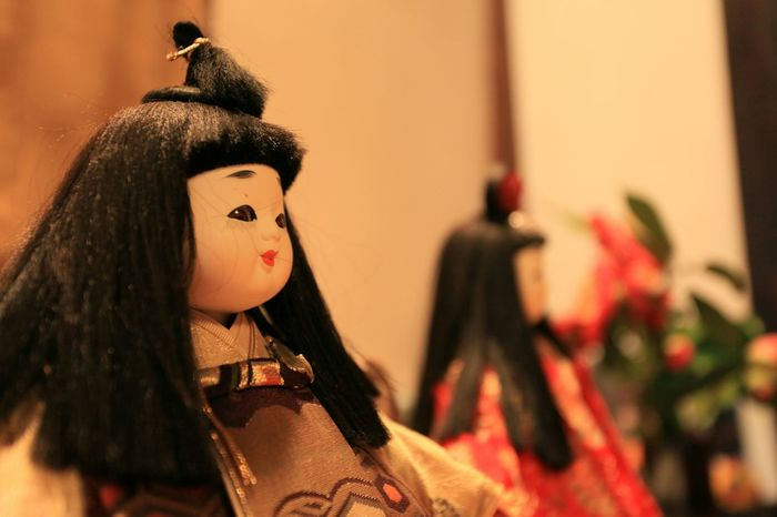 とあるカフェで見つけた雛人形♪(*^^)/ Taking Photos Enjoying Life 和 民芸品 Traditional Culture Japanese Culture 雛人形 Dolls Doll Japanese Style