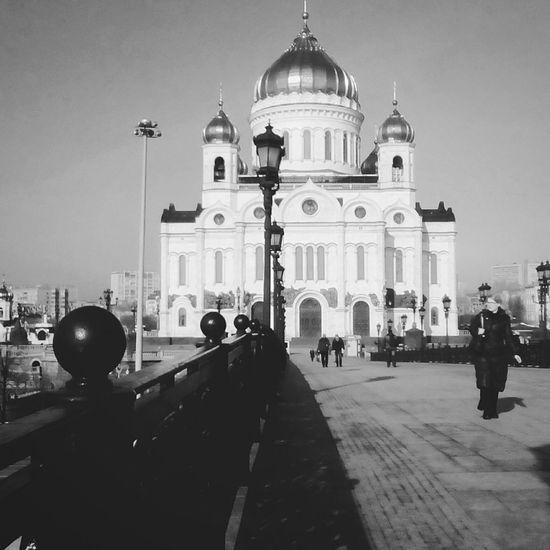 ХрамХристаСпасителя патриарший мост Russian Church Bridge Moscow Moscow, Москва Moscow, Russia