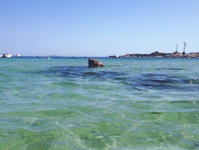 Shark 🐟😄 Sardegna Summer 2016 Holiday Italy Sea Beach a rock like a shark's fin Traveling Summertime July Me Around The World Taking Photos Eye4photography  Capture The Moment