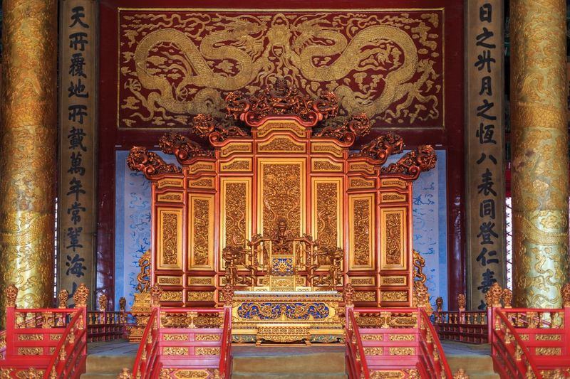 Place Of Worship Religion Architecture Belief Building Built Structure No People Indoors  Art And Craft Spirituality Craft Travel Destinations History Ornate The Past Pattern Design Gold Colored Architectural Column Gold