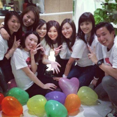 Bridalshower Teambride