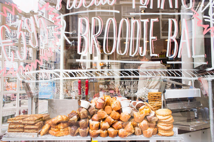 Baked Baked Goods Bakery Bakery Cafe Business Cookies Display Food Freshness Heap Large Group Of Objects Muffins Retail Display Shop Window Still Life Variation Window Your Amsterdam