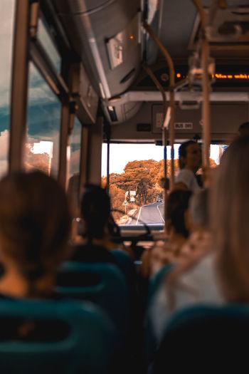 Autumn bus