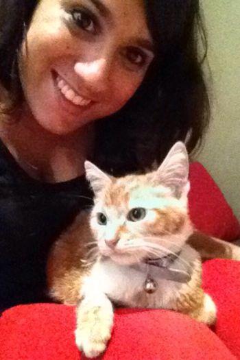My Cat♥ little selfie ❤️❤️