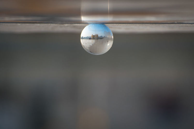 Amritsar Close-up Day Focus On Foreground Globe Golden Temple No People Reflection Sphere Finding New Frontiers Water Reflections Finding New Frontier