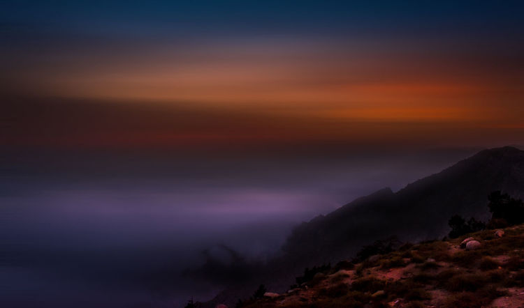 The long exposure shot of the clouds.. Autumn Pinaceae Night Forest Scenics Nature Landscape Tree Cloud - Sky Beauty In Nature Pine Tree Sunset Outdoors Sky No People Illuminated Star - Space Horizon Over Water Astronomy Azzydoon Riyadh Lost In The Landscape Travelling Worldwide_shot Art Is Everywhere