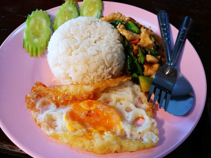 Suratthani Airport Breakfast ♥ Thailand Thaifood
