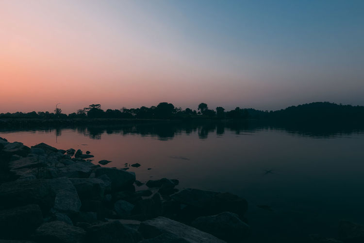 Beauty In Nature Interstellar Lake Landscape Nature No People Outdoors Reflection Scenics Sky Sunrise Sunset Water Welcome To Black EyeEm Diversity The Secret Spaces The Great Outdoors - 2017 EyeEm Awards Lost In The Landscape