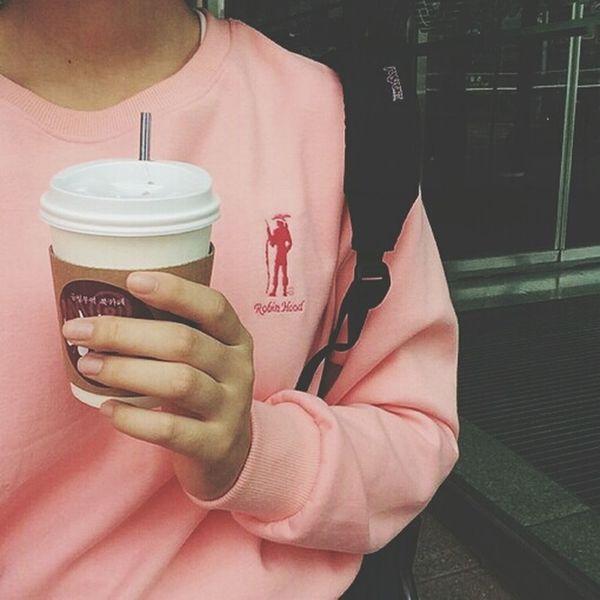 Pink Milk Tea Bag Fashion Love♥ Love It Beauty Hand