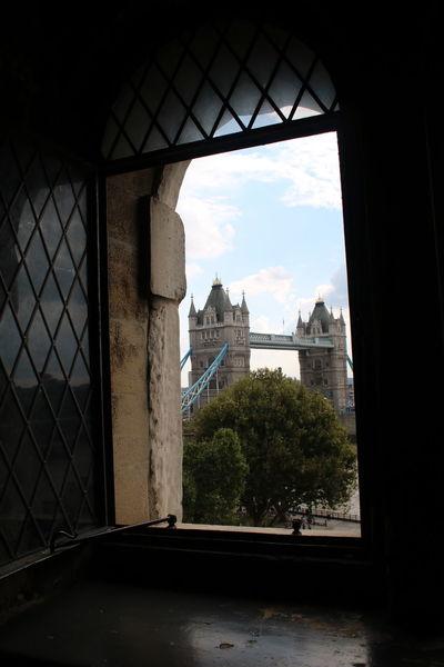 Architecture Built Structure Cloud Cloud - Sky England, UK Famous Place History London Sky Stone Material Tourism Tower Bridge  Tower Bridge London Tree Window